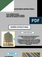 DISEÑO ARQUITECTONICO ESTRUCTURAL