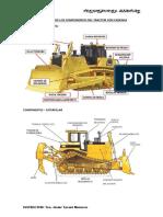 Descripción de Los Componentes Del Tractor Con Cadenas