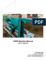 CSEB Machine Manual - 20170809