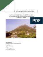 Estudio de Impacto Ambiental Pozo 1