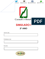 Simulado I - 2º Ano - ( Blog Do Prof. Adonis)