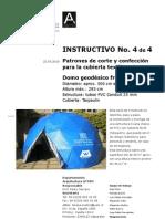 Como Fabricar Domo Geodesico 4 de 4