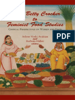 Feminist and Food Studies