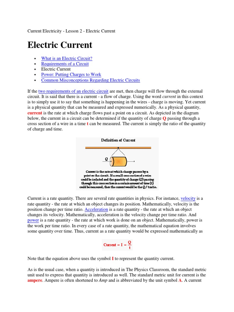 Curren Electric Charge Current Related Image With Electricity Notes