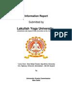 Ugc 2(f) University Information (1)