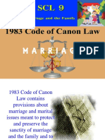 Canon Law on Marriage