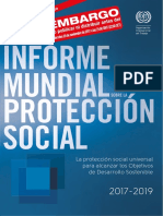 Informe Mundial sobre la Protección Social 2017-19