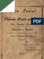Guia Social Arabe en Chile.