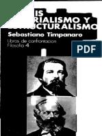 Sebastiano Timpanaro - Praxis, estructuralismo y materialismo.pdf
