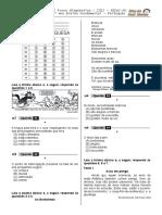 1ª P.D - 2012 (3º Ano - L.P - Seduc-GO) Blog Do Prof. Warles