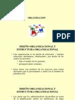 Diseno y Estructura Organizacional Ppt