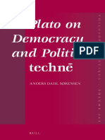 (Philosophia Antiqua 143) Anders Dahl Sørensen-Plato on Democracy and Political Technē-Brill Academic Publishers (2016)