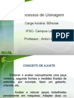 Processos de Usinagem I