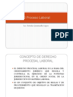 El Proceso Laboral
