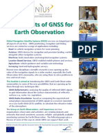 The Benefits of Gnss for Earth Observation