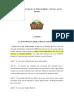 Estatuto e Regimento Da Associação de Moradores Da Chácara Santa Helena