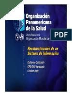 Reestructuracion Sistema Informacion