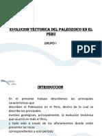 Plaeozoico en El Peru