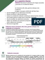 Clase Radiaciones