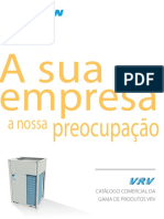 VRV Catalogue ECPPT13-200A Catalogues Portuguese