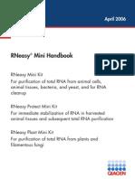 RNeasy Mini Handbook