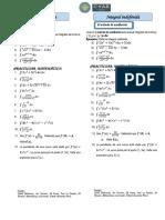 Ficha 2 Integral Indefinida_ Metodo de Sustitución