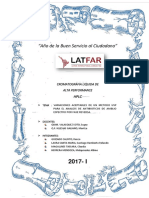 Variaciones de Métodos en HPLC