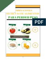 Combinaciones Secretas de Alimentos Para Perder Peso