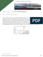 Diy Knifemaker's Info Center_ Bg-272 Diy 2 x 72 _belt Grinder- Melhor Projeto de Lixadeira - Completo