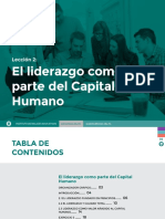 Leccion 2. Liderazgo y Gestion Del Capital Humano