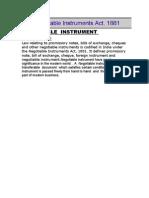 Negotiable Instrument 3