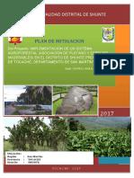 Plan de Mitigacion Sistema Agroforestal Shunte