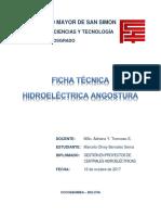 Ficha Técnica - Angostura (Chile)
