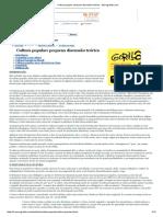 Cultura popular_ pequena discussão teórica - Monografias.pdf