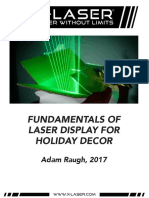 Preview of X-Laser Fundamentals of Laser for Holiday Decor