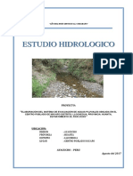 Estudio Hidrologico de Mayapo