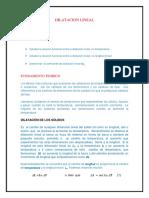 Dilatacion Lineal Fisica 200