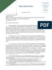 Elizabeth Warren Letter to CFPB IG Re Moratorium 113017