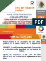 Presentacion NOM 002 STPS 2010
