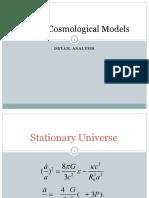 7 Cosmology-models