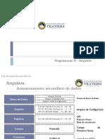 Arquivos - Aula e Exemplo