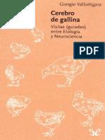 Giorgio Vallaortigara -Cerebro de Gallina
