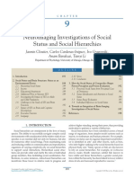 Social Status and Hierarchies