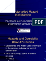 Computer Aided HAZOP