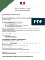 Documents Pour l'Obtention Du Ccm Au Consulat de France Au Maroc - Mariage Franco Marocain