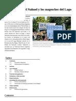Causa de Rafael Nahuel y Los Mapuches Del Lago Mascardi