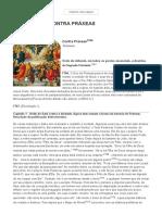 E-cristianismo - Tertuliano - Contra Práxeas