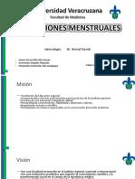 Alteraciones Menstruales Final