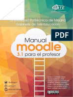 Manual Moodle 3.1