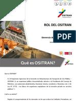 1. Rol de Ositran